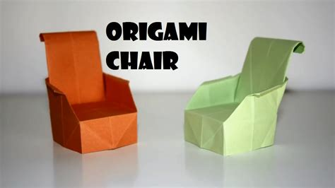 How To Make A Paper Table - origami move around with your origami chair the anonimiss