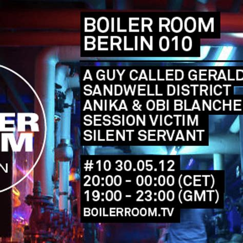 Boiler Room Tv Live by Silent Servant Live In The Boiler Room Berlin By Boiler