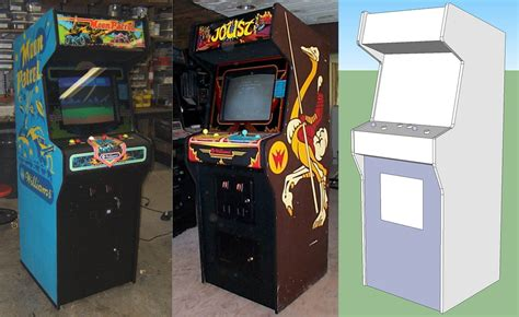arcade cabinate building a home arcade machine cabinet design retromash