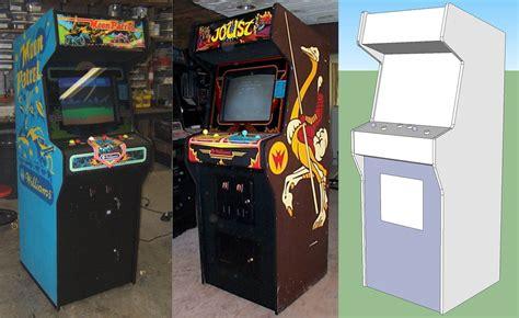 Arcade Cabinet Bezel by Building A Home Arcade Machine Cabinet Design Retromash