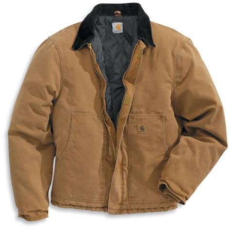 Carhartt Quilt Lined Jacket by Carhartt 174 Arctic Quilt Lined Sandstone Traditional