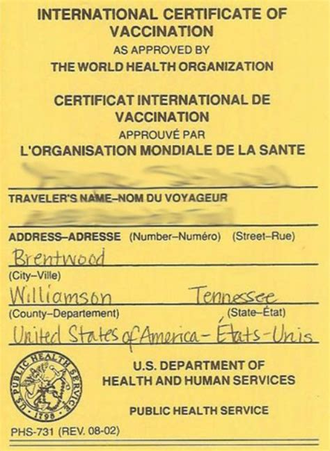 certificate of vaccination template tony nwajei post 09 16 13