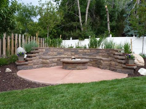 landscaping rock beds sloping backyard landscaping ideas