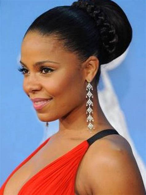 black bun hairstyles 20 beautiful hairstyles for black hairstyle