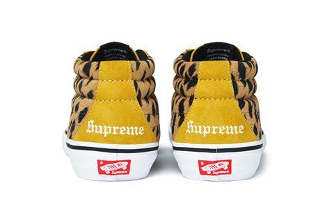 vans sk8 hi supreme supreme x vans sk8 mid pro le site de la sneaker
