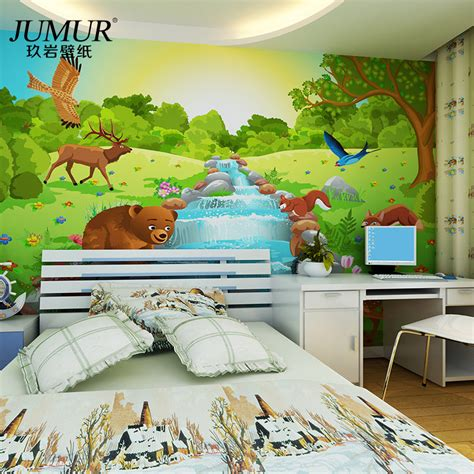 mural child real eco friendly wallpaper tv living