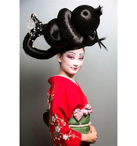 imagenes de geishas japonesas animadas yolanda aberasturi peinados de geisha bellezapura