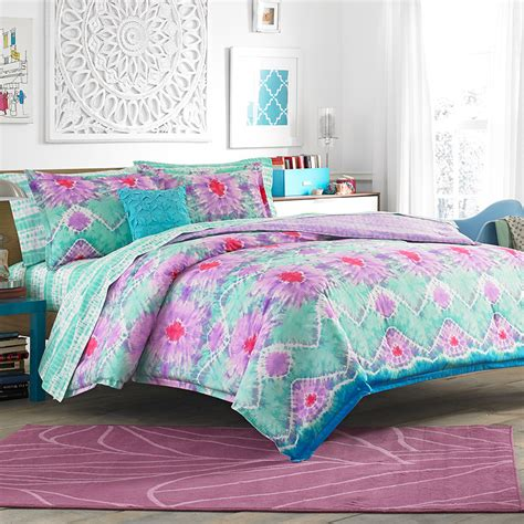 teen comforter teen vogue to dye for comforter set from beddingstyle com