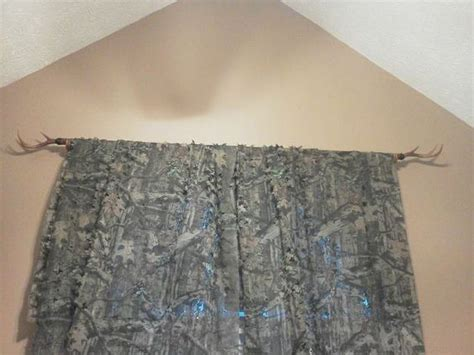 Camo Netting Curtains Deer Antlers Antlers And Deer On