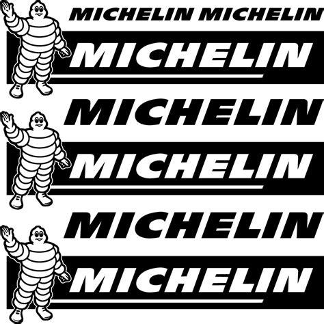 Sticker Michelin 10x4 Cm Wallstickers Folies Michelin Decal Stickers Kit