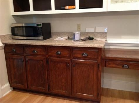Java Stain Kitchen Cabinets help java stain too dark general finishes gel stain