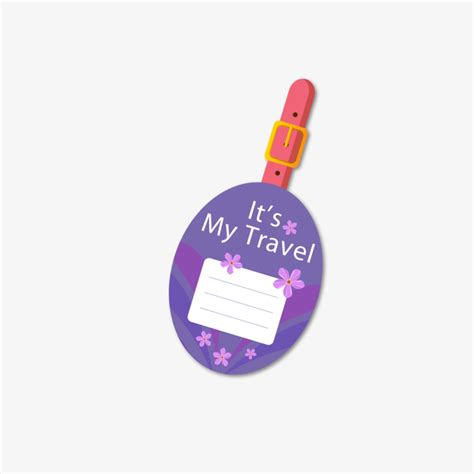 simple printable luggage tags purple round luggage tag violet gules circular png and