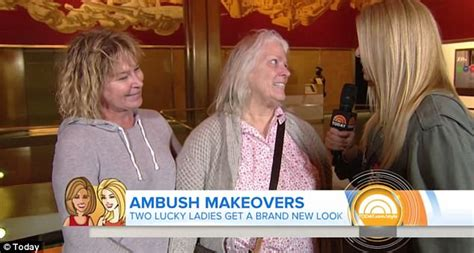 today show a bush makeovers side by side mother and daughter get ambush makeovers on today show