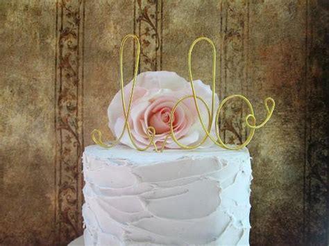 i do wedding cake topper shabby chic cake topper