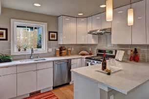 Flat Kitchen Design by White Flat Panel Kitchen Design Kitchen Decoration Ideas
