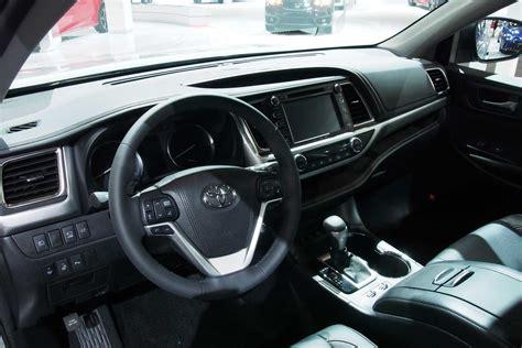 toyota highlander 2017 interior 2011 toyota highlander hybrid road test review car and