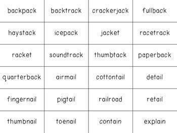 {freebie!} decodable multisyllabic word flashcards by