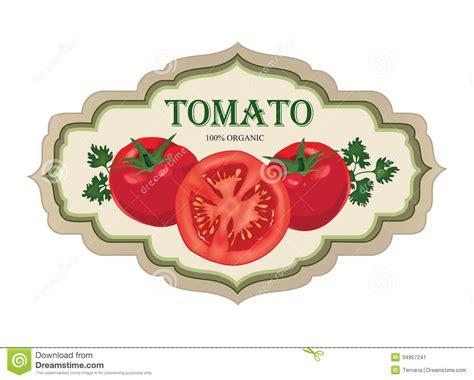 Retro Red Play Kitchen - tomato label vector set retro stickers stock image image 34957241
