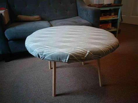 do it yourself ottoman attaching coffee table ottoman legs doityourself com