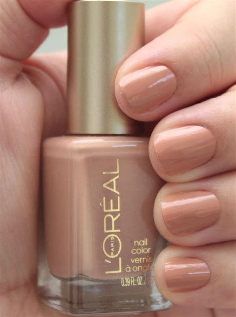 Hair Manicure Loreal nail 203 till the sun comes up l oreal