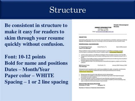 Resume Presentation by Resume Presentation