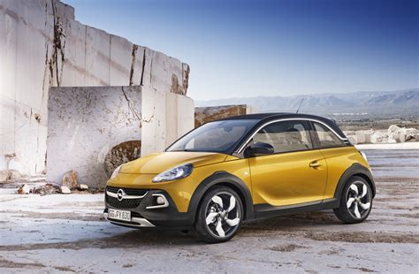 vauxhall adam rocks 2015 opel adam rocks gm authority