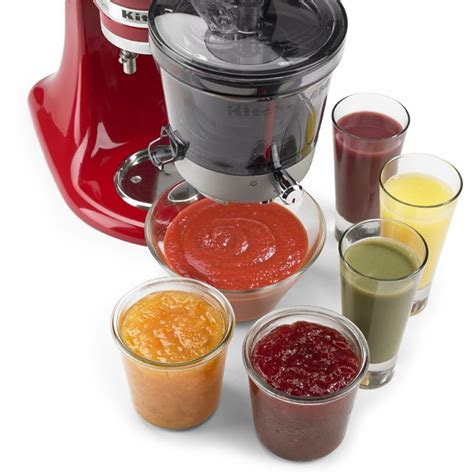 Kitchenaid Juicer And Sauce Attachment 17 Best Ideas About Kitchenaid Mixer Accessories On