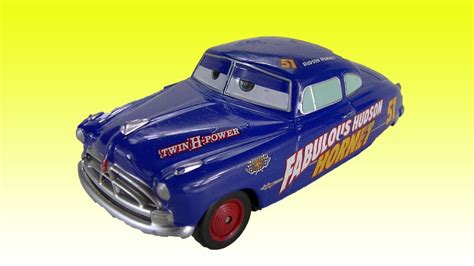 Doctor After Car 2 by Cars 2 Hudson Hornet Disney Diecast Doc Hudson