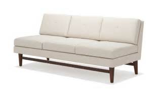 Modern Armless Sofa Diggity Armless Sofa Truemodern