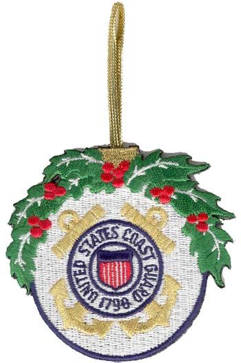 u s coast guard 3 quot christmas ornament