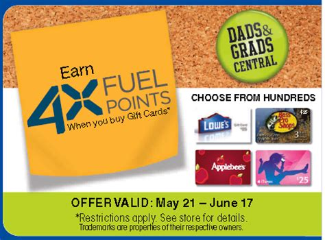 kroger 4x fuel points with gift card purchase - Kroger Bonus Fuel Points Gift Cards