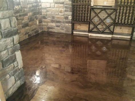 epoxy flooring rochester hills troy warren mi