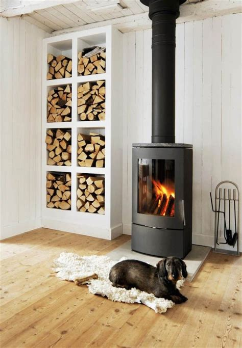 13 wood stove decor ideas for your home stove small