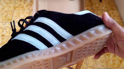 Sepatu Adidas Slip On Hamburg 1 sepatu sneakers adidas hamburg coreblack blue s74833