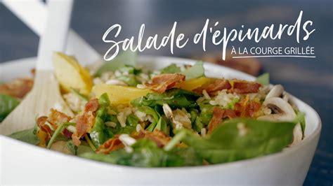 cuisine courge salade d 233 pinards 224 la courge grill 233 e cuisine fut 233 e