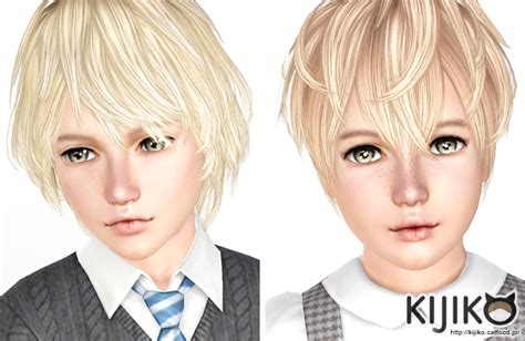 childs hairstyles sims 4 kijiko kijiko hair for kids child toddler sims3