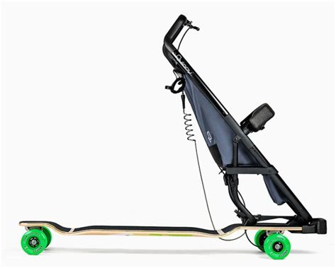 designboom quinny longboardstroller solves your strolling woes with speed