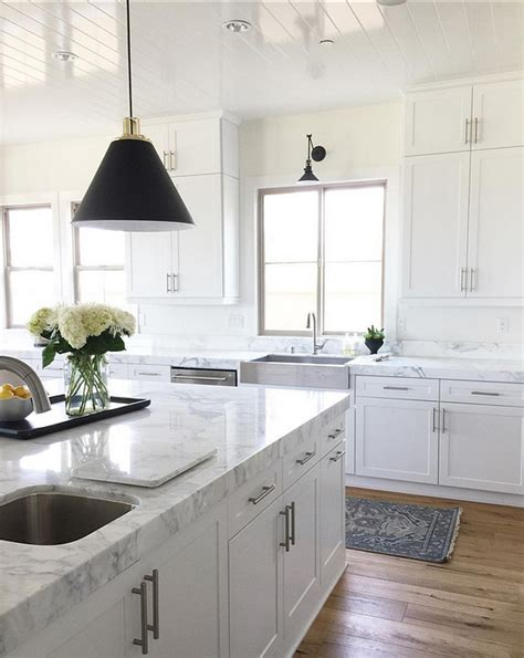 White Kitchen Cabinet Hardware Ideas Inspiring Ideas From Instagram Homes Home Bunch Interior Design Ideas