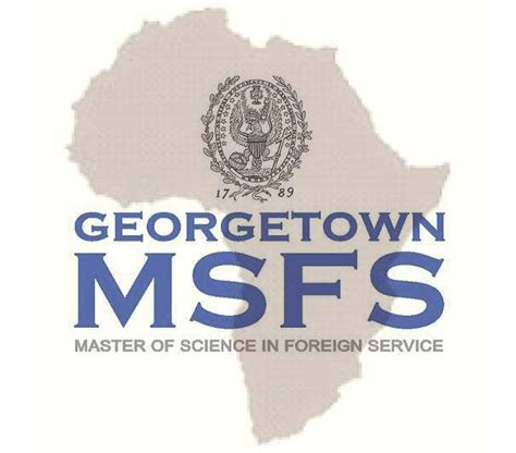 Georgetown Mba Part Time Scholarhsip by Msfs Continues Scholarship For Students From Africa