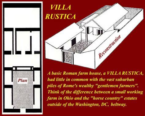villa rustica layout villa rustica roman farmhouse maps charts graphs