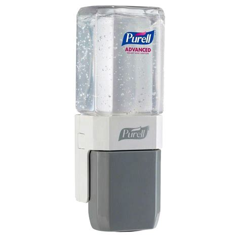 Dispenser Es purell es everywhere system push dispenser in white