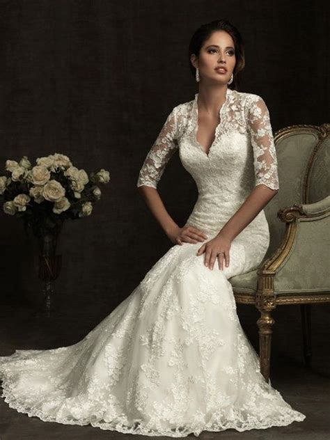 nice wedding dress   older bride woman