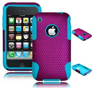 Ipaky New Generation High Quality Iphone 77s for iphone 3 3g 3s 3gs hybrid purple mesh blue silicone cover ebay