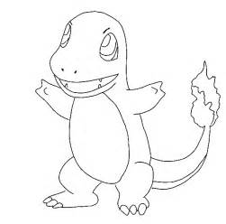 pokemon charmander coloring pages