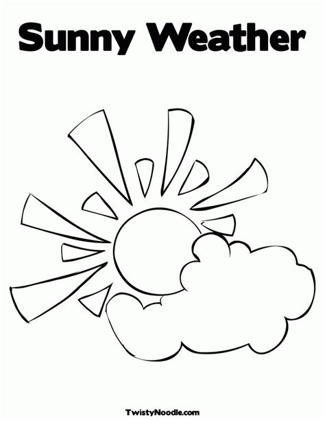 coloring pages weather preschool weather coloring pages preschool coloring home