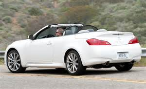 2009 Infiniti G37 Convertible Car And Driver