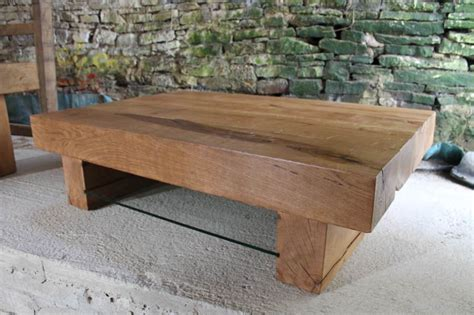 Large Oak Coffee Table Abacus Tables Large Oak Coffee Table