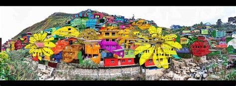 Farm Wall Murals this gigantic community wide artwork in la trinidad is