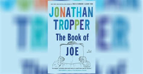 the book of joe the wit and sometimes wisdom of joe biden books the book of joe book review jonathan tropper proves