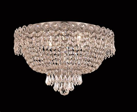 Chandeliers Flush Mount Lighting 4 Lights Flush Mount 16 Quot Chandelier 1900 Century Collection